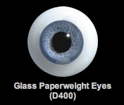 Glass Paperweight Eyes (D400)